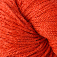 Load image into Gallery viewer, Skein of Berroco Vintage  Worsted weight yarn in the color Orange (Orange) for knitting and crocheting.
