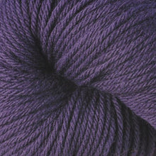 Load image into Gallery viewer, Skein of Berroco Vintage  Worsted weight yarn in the color Petunia (Purple) for knitting and crocheting.