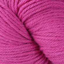 Load image into Gallery viewer, Skein of Berroco Vintage  Worsted weight yarn in the color Shocking (Pink) for knitting and crocheting.