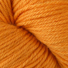 Load image into Gallery viewer, Skein of Berroco Vintage  Worsted weight yarn in the color Tangerine (Orange) for knitting and crocheting.
