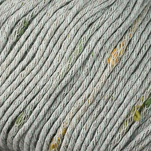 Load image into Gallery viewer, Skein of Berroco Zinnia Worsted weight yarn in color Menthe (Green) for knitting and crocheting.