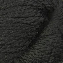 Load image into Gallery viewer, Skein of Cascade 128 Superwash Bulky weight yarn in the color Black (Black) for knitting and crocheting.