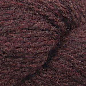 Skein of Cascade 128 Superwash Bulky weight yarn in the color Cordovan (Brown) for knitting and crocheting.