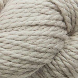 Skein of Cascade 128 Superwash Bulky weight yarn in the color Feather Grey (Tan) for knitting and crocheting.