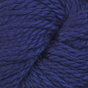 Skein of Cascade 128 Superwash Bulky weight yarn in the color Italian Plum (Purple) for knitting and crocheting.