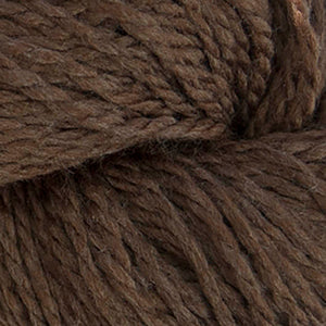 Skein of Cascade 128 Superwash Bulky weight yarn in the color Mocha Heather (Brown) for knitting and crocheting.