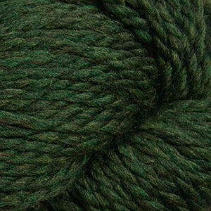 Skein of Cascade 128 Superwash Bulky weight yarn in the color Shire (Green) for knitting and crocheting.