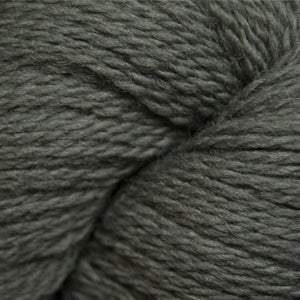 Skein of Cascade 220 Fingering Sock weight yarn in the color Castor Grey (Gray) for knitting and crocheting.