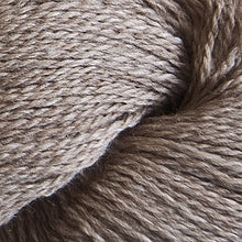 Load image into Gallery viewer, Skein of Cascade 220 Fingering Sock weight yarn in the color Doeskin Heather (Brown) for knitting and crocheting.