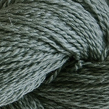 Load image into Gallery viewer, Skein of Cascade 220 Fingering Sock weight yarn in the color Ginseng (Gray) for knitting and crocheting.