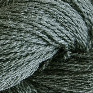 Skein of Cascade 220 Fingering Sock weight yarn in the color Ginseng (Gray) for knitting and crocheting.