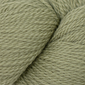 Skein of Cascade 220 Fingering Sock weight yarn in the color Gray Green (Green) for knitting and crocheting.