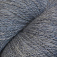 Load image into Gallery viewer, Skein of Cascade 220 Fingering Sock weight yarn in the color Indigo Frost Heather (Blue) for knitting and crocheting.