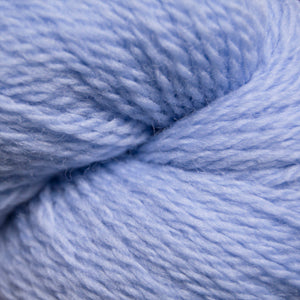 Skein of Cascade 220 Fingering Sock weight yarn in the color Kentucky Blue (Blue) for knitting and crocheting.