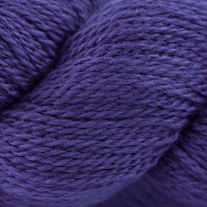 Skein of Cascade 220 Fingering Sock weight yarn in the color Mystic Purple (Purple) for knitting and crocheting.