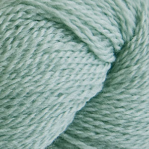 Skein of Cascade 220 Fingering Sock weight yarn in the color Sage (Green) for knitting and crocheting.