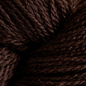 Skein of Cascade 220 Fingering Sock weight yarn in the color Van Dyke Brown (Brown) for knitting and crocheting.