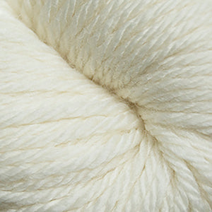 Skein of Cascade 220 Superwash Sport Sport weight yarn in the color Aran (Cream) for knitting and crocheting.