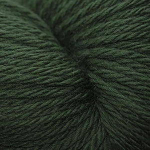 Skein of Cascade 220 Superwash Sport Sport weight yarn in the color Army Green (Green) for knitting and crocheting.