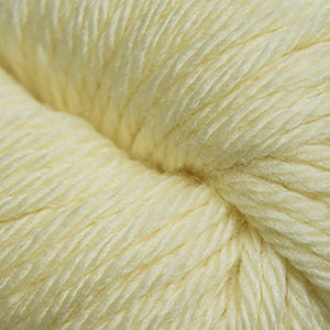 Skein of Cascade 220 Superwash Sport Sport weight yarn in the color Banana Cream (Yellow) for knitting and crocheting.