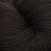 Load image into Gallery viewer, Skein of Cascade 220 Superwash Sport Sport weight yarn in the color Chocolate (Brown) for knitting and crocheting.