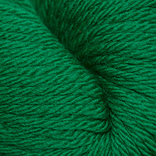 Load image into Gallery viewer, Skein of Cascade 220 Superwash Sport Sport weight yarn in the color Christmas Green (Green) for knitting and crocheting.