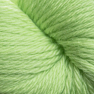 Skein of Cascade 220 Superwash Sport Sport weight yarn in the color Lime Sherbet (Green) for knitting and crocheting.