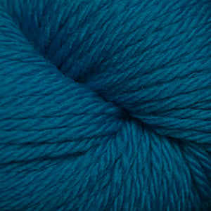 Skein of Cascade 220 Superwash Sport Sport weight yarn in the color Methyl Blue (Blue) for knitting and crocheting.