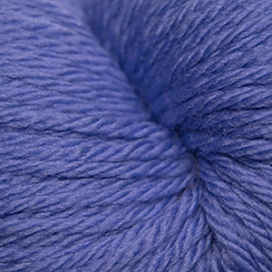 Skein of Cascade 220 Superwash Sport Sport weight yarn in the color Periwinkle (Blue) for knitting and crocheting.