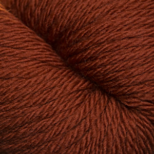 Skein of Cascade 220 Superwash Sport Sport weight yarn in the color Picante (Orange) for knitting and crocheting.