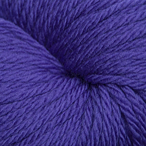 Skein of Cascade 220 Superwash Sport Sport weight yarn in the color Purple Hyacinth (Purple) for knitting and crocheting.