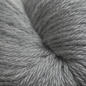 Skein of Cascade 220 Superwash Sport Sport weight yarn in the color Silver Grey (Gray) for knitting and crocheting.