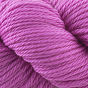 Skein of Cascade 220 Superwash Sport Sport weight yarn in the color Tahitan Rose (Pink) for knitting and crocheting.