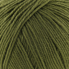 Load image into Gallery viewer, Skein of Cascade 220 Superwash Worsted weight yarn in the color Avocado (Green) for knitting and crocheting.