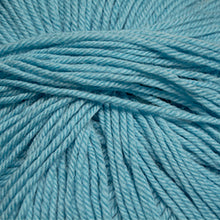 Load image into Gallery viewer, Skein of Cascade 220 Superwash Worsted weight yarn in the color Bachelor Button (Blue) for knitting and crocheting.