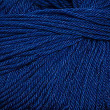 Load image into Gallery viewer, Skein of Cascade 220 Superwash Worsted weight yarn in the color Cobalt Heather (Blue) for knitting and crocheting.