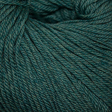 Load image into Gallery viewer, Skein of Cascade 220 Superwash Worsted weight yarn in the color Lake Chelan Heather (Green) for knitting and crocheting.