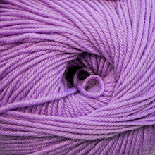 Load image into Gallery viewer, Skein of Cascade 220 Superwash Worsted weight yarn in the color Light Iris (Purple) for knitting and crocheting.