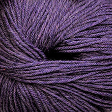 Load image into Gallery viewer, Skein of Cascade 220 Superwash Worsted weight yarn in the color Mystic Purple (Purple) for knitting and crocheting.
