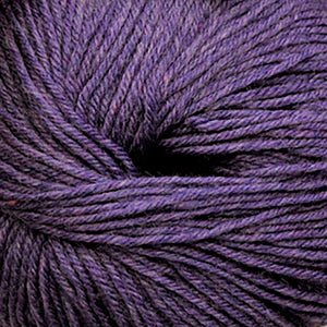 Skein of Cascade 220 Superwash Worsted weight yarn in the color Mystic Purple (Purple) for knitting and crocheting.
