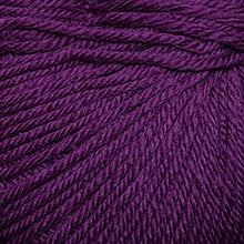 Load image into Gallery viewer, Skein of Cascade 220 Superwash Worsted weight yarn in the color Plum Crazy (Pink) for knitting and crocheting.