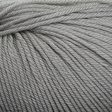 Load image into Gallery viewer, Skein of Cascade 220 Superwash Worsted weight yarn in the color Ridge Rock (Gray) for knitting and crocheting.
