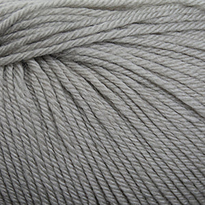 Skein of Cascade 220 Superwash Worsted weight yarn in the color Ridge Rock (Gray) for knitting and crocheting.