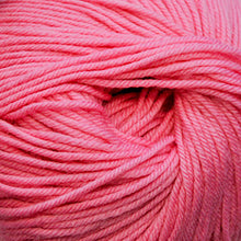 Load image into Gallery viewer, Skein of Cascade 220 Superwash Worsted weight yarn in the color Rose Petal (Pink) for knitting and crocheting.
