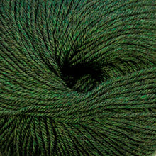 Load image into Gallery viewer, Skein of Cascade 220 Superwash Worsted weight yarn in the color Shire (Green) for knitting and crocheting.