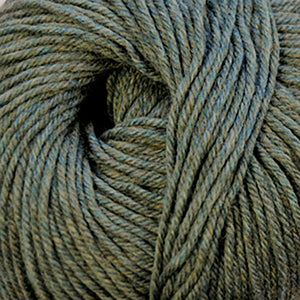 Skein of Cascade 220 Superwash Worsted weight yarn in the color Smoke Heather (Gray) for knitting and crocheting.
