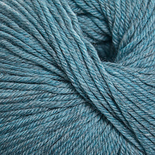 Load image into Gallery viewer, Skein of Cascade 220 Superwash Worsted weight yarn in the color Summer Sky Heather (Blue) for knitting and crocheting.