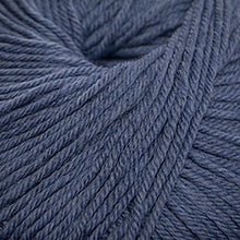 Load image into Gallery viewer, Skein of Cascade 220 Superwash Worsted weight yarn in the color Westpoint Blue Heather (Blue) for knitting and crocheting.