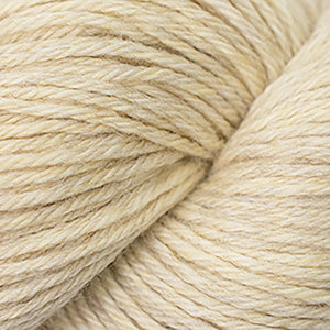 Skein of Cascade 220 Worsted weight yarn in the color Antiqued Heather (Tan) for knitting and crocheting.