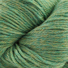 Load image into Gallery viewer, Skein of Cascade 220 Worsted weight yarn in the color Aventurine Heather (Green) for knitting and crocheting.